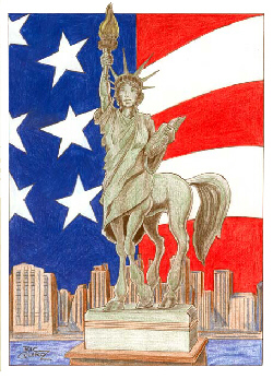 Mavra of Liberty, by Irq (Click on image to visit artist's website).