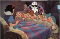 Master Roshi prepares to send the 7 Dwarves on a 20mile run while he gives Snow White some 'special lessons'